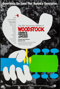 "Movie Posters:Rock and Roll, Woodstock (Warner Brothers, R-1994). One Sheet (27"" X 41""). Rockand Roll.. ..."