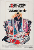 """Movie Posters:James Bond, Live and Let Die (United Artists, 1973). Poster (40"""" X 60""""). JamesBond.. ..."""