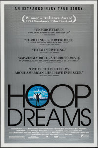 """Hoop Dreams & Other Lot (Fine Line Features, 1994). One Sheets (2) (27"""" X 40"""" & 27"""" X 41"""")..."""