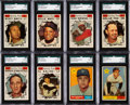 Baseball Cards:Sets, 1961 Topps Baseball High Numbers #523-589 Complete Run (65)....