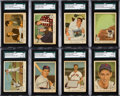 Baseball Cards:Sets, 1959 Fleer Ted Williams Near Set (76/80) With #68 Ted Signs for 1959. ...