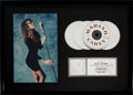 Music Memorabilia:Awards, Mariah Carey Mariah Carey RIAA Multi-Platinum Record Award(Columbia Records 45202, 1990)....