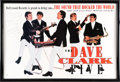 Music Memorabilia:Autographs and Signed Items, The Dave Clark Five Promotional Poster Signed by Dave Clark...