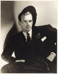 Movie/TV Memorabilia:Autographs and Signed Items, A Douglas Fairbanks, Jr. Oversized Signed Black and WhitePhotograph, Circa 1930s....