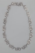 Silver Smalls:Other , A MARGOT DE TAXCO SILVER NECKLACE, Taxco, Mexico, circa 1948-1978.Marks: MARGOT DE TAXCO, 5194, (eagle-16), STERLING, ...