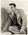 Movie/TV Memorabilia:Autographs and Signed Items, A Lon Chaney, Jr. Signed Black and White Photograph, 1943....