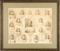 Baseball Collectibles:Photos, 1904 Pittsburg Pirates Composite Photograph by Horner. As the era'smost noteworthy and celebrated baseball photographer, C...