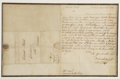Autographs:Military Figures, Benedict Arnold Manuscript Letter Signed, Written During the Revolutionary War....