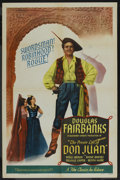 "Movie Posters:Adventure, The Private Life of Don Juan (Film Classics, R-1947). One Sheet(27"" X 41""). Adventure. ..."