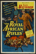 "Movie Posters:Adventure, The Royal African Rifles (Allied Artists, 1953). One Sheet (27"" X41""). Adventure. ..."