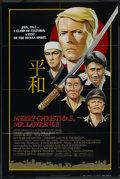 """Movie Posters:War, Merry Christmas, Mr. Lawrence (Universal, 1983). One Sheet (26.5"""" X39.75""""). War. ..."""