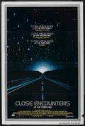 """Movie Posters:Science Fiction, Close Encounters of the Third Kind (Columbia, 1977). One Sheet (27"""" X 41""""). Science Fiction. ..."""