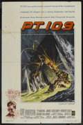 "Movie Posters:War, PT 109 (Warner Brothers, 1963). One Sheet (27"" X 41""). War. ..."