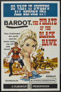 "Movie Posters:Adventure, The Pirate of the Black Hawk (Film Group, 1961). One Sheet (27"" X41""). Adventure. ..."