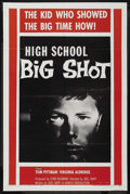 "Movie Posters:Crime, High School Big Shot (Columbia, 1959). One Sheet (27"" X 41""). Crime. ..."