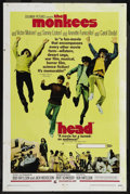 "Movie Posters:Rock and Roll, Head (Columbia, 1968). One Sheet (27"" X 41""). Rock and Roll. ..."