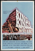 "Movie Posters:Historical Drama, King of Kings (MGM, 1961). One Sheet (27"" X 41"") Style B.Historical Drama. ..."