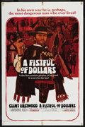 "Movie Posters:Western, A Fistful of Dollars (United Artists, 1967). One Sheet (27"" X 41"").Western. ..."