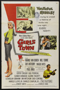 "Movie Posters:Bad Girl, Girls Town (MGM, 1959). One Sheet (27"" X 41""). Bad Girl. ..."