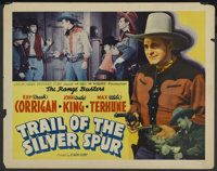 "Trail of the Silver Spurs (Monogram, 1941). Half Sheet (22"" X 28""). Western"