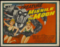 """Movie Posters:Science Fiction, Missile to the Moon (Astor Pictures, 1958). Half Sheet (22"""" X 28""""). Science Fiction. ..."""