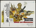 "Movie Posters:War, Raid on Rommel (Universal, 1971). Half Sheet (22"" X 28""). War...."