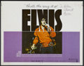 "Movie Posters:Elvis Presley, That's the Way It Is (MGM, 1971). Half Sheet (22"" X 28""). ElvisPresley. ..."