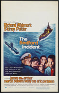 "Movie Posters:War, The Bedford Incident (Columbia, 1965). Window Card (14"" X 22"").War. ..."