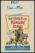 """Movie Posters:Comedy, The Girls of Pleasure Island (Paramount, 1953). Window Card (14"""" X22""""). Comedy. ..."""