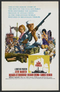 "Movie Posters:War, The Sand Pebbles (20th Century Fox, 1966). Window Card (14"" X 22"").War. ..."