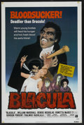 "Movie Posters:Blaxploitation, Blacula (American International, 1972). One Sheet (27"" X 41""). Blaxploitation. ..."