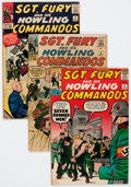 Silver Age (1956-1969):War, Sgt. Fury and His Howling Commandos Group (Marvel, 1963-70) Condition: Average VG.... (Total: 10 Comic Books)