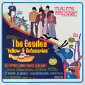 Music Memorabilia:Posters, Beatles Yellow Submarine Six-Sheet Movie Poster (UnitedArtists, 1968)....