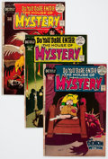 Bronze Age (1970-1979):Horror, House of Mystery #201-290 Complete Range Group (DC, 1972-81)Condition: Average FN+.... (Total: 90 Comic Books)