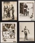 """Movie Posters:Science Fiction, Invaders from Mars (20th Century Fox, 1953). Photos (2) (Approximately 7.5"""" X 9.5"""") & Key Art Photos (2) (8"""" X 10""""). Science... (Total: 4 Items)"""