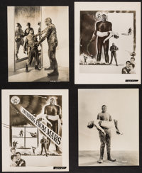 "Invaders from Mars (20th Century Fox, 1953). Photos (2) (Approximately 7.5"" X 9.5"") & Key Art Photos (2) (..."