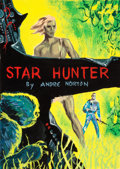 Original Comic Art:Miscellaneous, Ed Emshwiller (signing as Emsh) Star Hunter PreliminaryCover Original Art (Ace, 1961)....