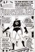 Original Comic Art:Splash Pages, Daredevil #5 Splash Page Recreation Original Art (2012)....