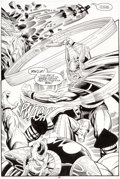 Original Comic Art:Splash Pages, Bruce Zick and Mike DeCarlo Thor #461 Splash Page 25Original Art (Marvel, 1993)....
