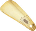 Estate Jewelry:Other , Art Deco Gold Shoehorn. ...