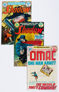 Bronze Age (1970-1979):Miscellaneous, The Shadow/OMAC Group (DC, 1973-75) Condition: Average FN/VF....(Total: 20 Comic Books)