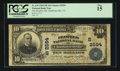 National Bank Notes:Virginia, Charlottesville, VA - $10 1902 Plain Back Fr. 634 The Peoples NBCh. # (S)2594. ...