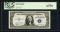 Small Size:Silver Certificates, Fr. 1607* $1 1935 Silver Certificate. PCGS Gem New 66PPQ.. ...