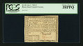 Colonial Notes:Rhode Island, Fully Signed Rhode Island July 2, 1780 $1 PCGS Choice About New58PPQ.. ...