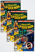 Modern Age (1980-Present):Superhero, The Amazing Spider-Man #216 Group (Marvel, 1981) Condition: AverageNM-.... (Total: 36 Comic Books)