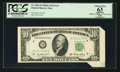 Error Notes:Attached Tabs, Fr. 2011-D $10 1950A Federal Reserve Note. PCGS Apparent Choice New63.. ...