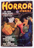 Pulps:Horror, Horror Stories June-July '38 (Popular, 1938) Condition: VG+....