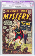 Silver Age (1956-1969):Superhero, Journey Into Mystery #84 (Marvel, 1962) CGC Apparent VG+ 4.5 Slight (C-1) Off-white pages....