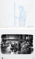 Animation Art:Production Drawing, Ghost Special Effects Animation Drawing Group (Paramount,1990).... (Total: 11 Items)