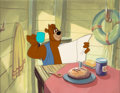 Animation Art:Production Cel, Busybody Bear Barney Bear Production Cel Setup (MGM,1952)....